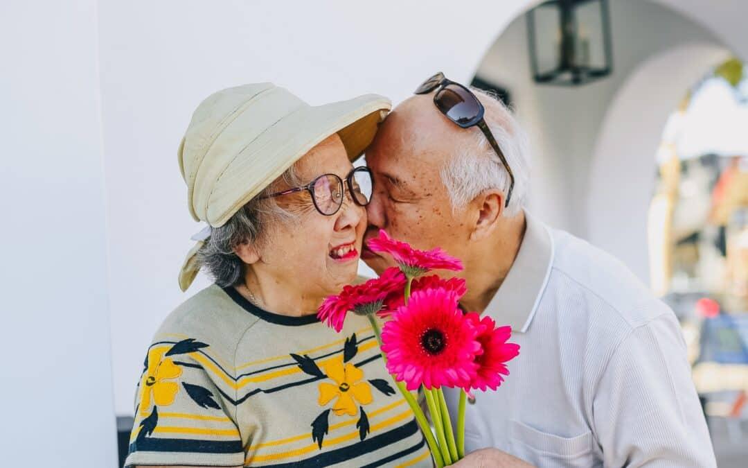 Bouquet de fleurs fête des Grand-Mères